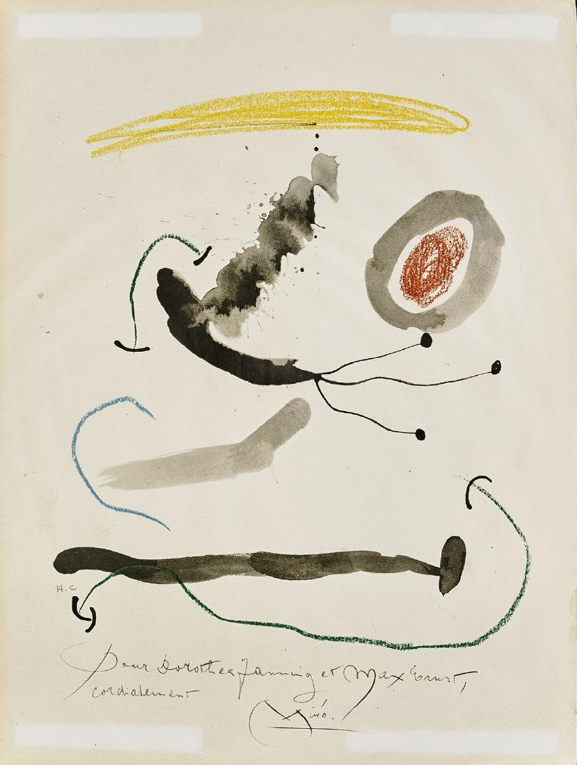 TWO LITHOGRAPHS AFTER JOAN MIRO - 3