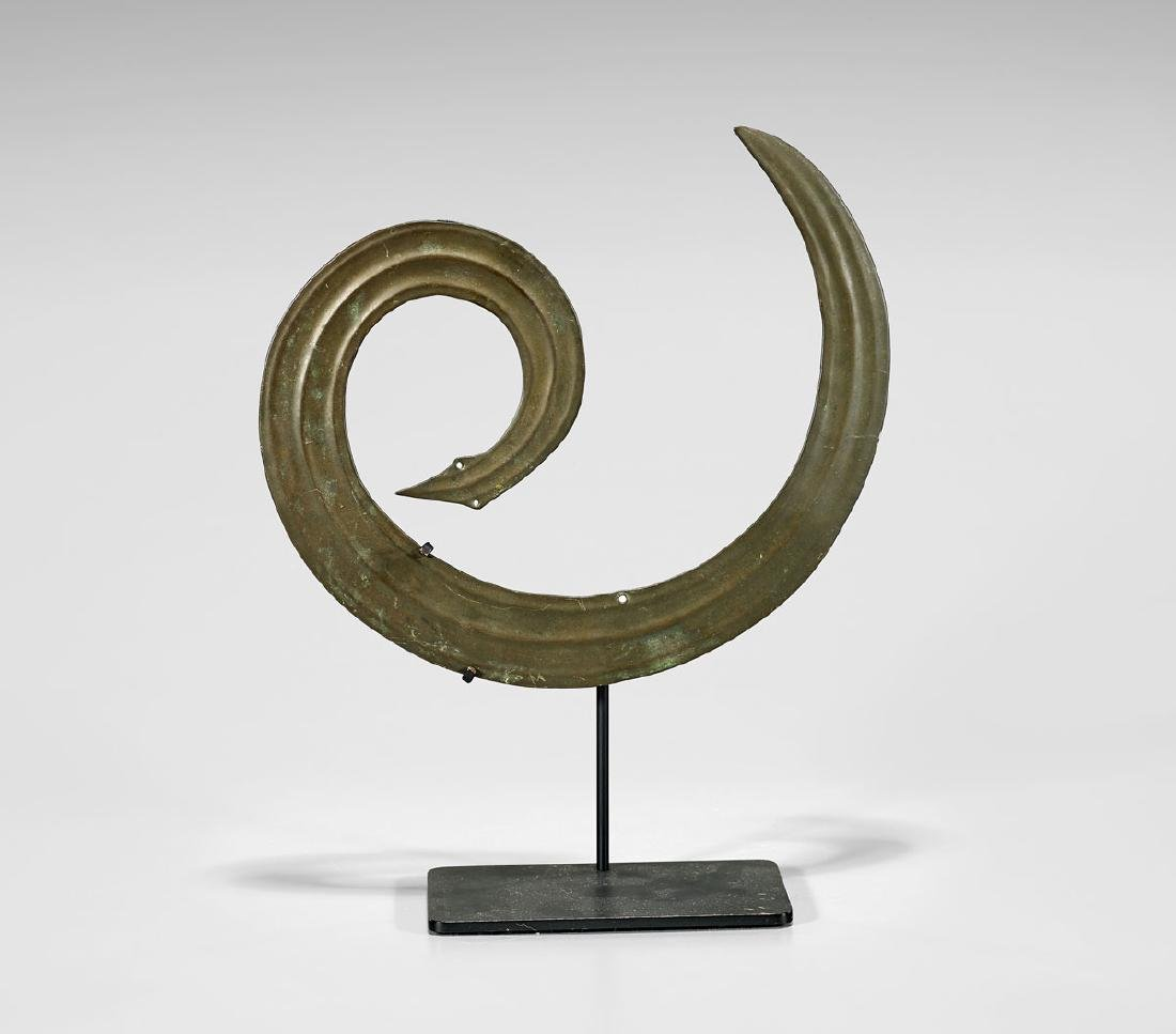 TORAJA BRASS 'SANGGORI' ORNAMENT