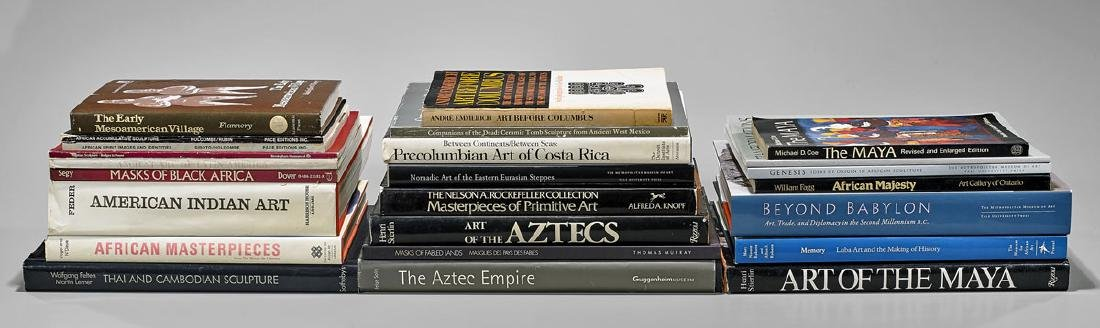 GROUP OF ETHNOGRAPHIC ART REFERENCE BOOKS