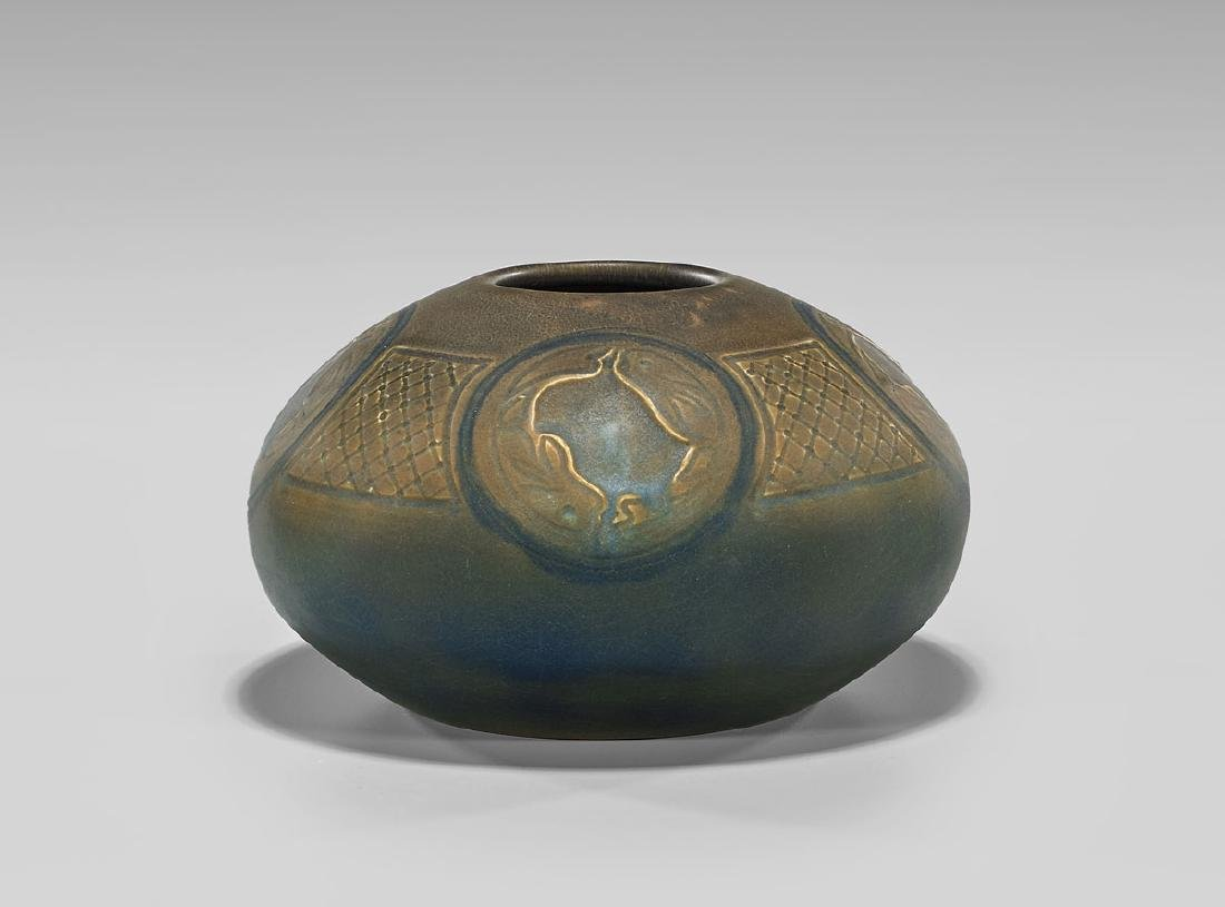 ROOKWOOD POTTERY VASE BY CHARLES TODD