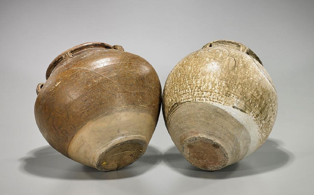 Two Late Ming Dynasty Pottery Jars - 2