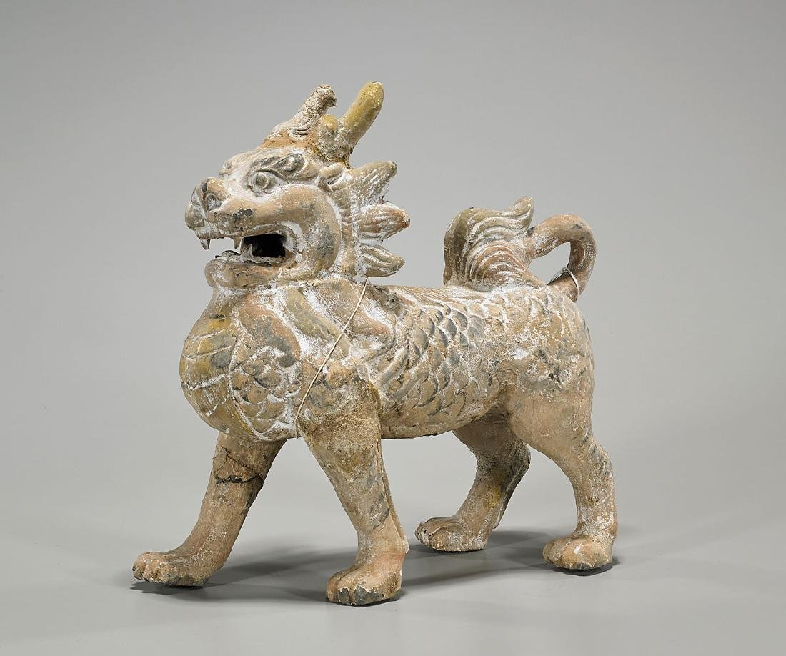 Chinese Tang Dynasty Pottery Chimera