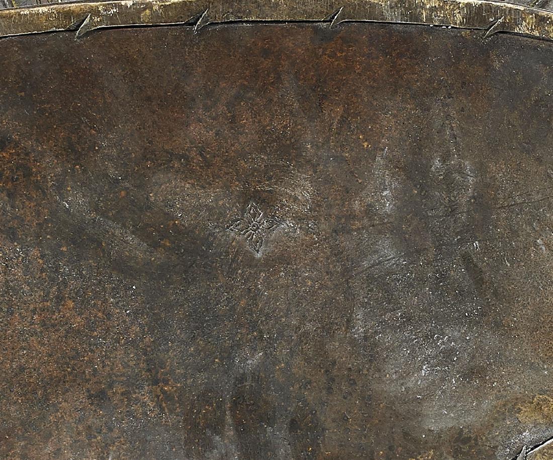 Large & Elaborate Chinese Gilt Bronze Seated Deity - 4