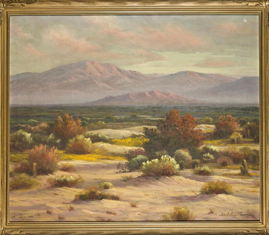 Oil on Canvas By John Anthony Conner
