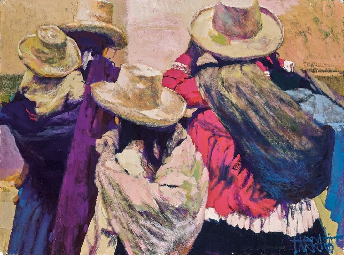 Three Contemporary Paintings - 2