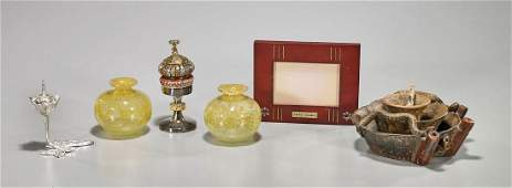 Group of Six Decorative Pieces