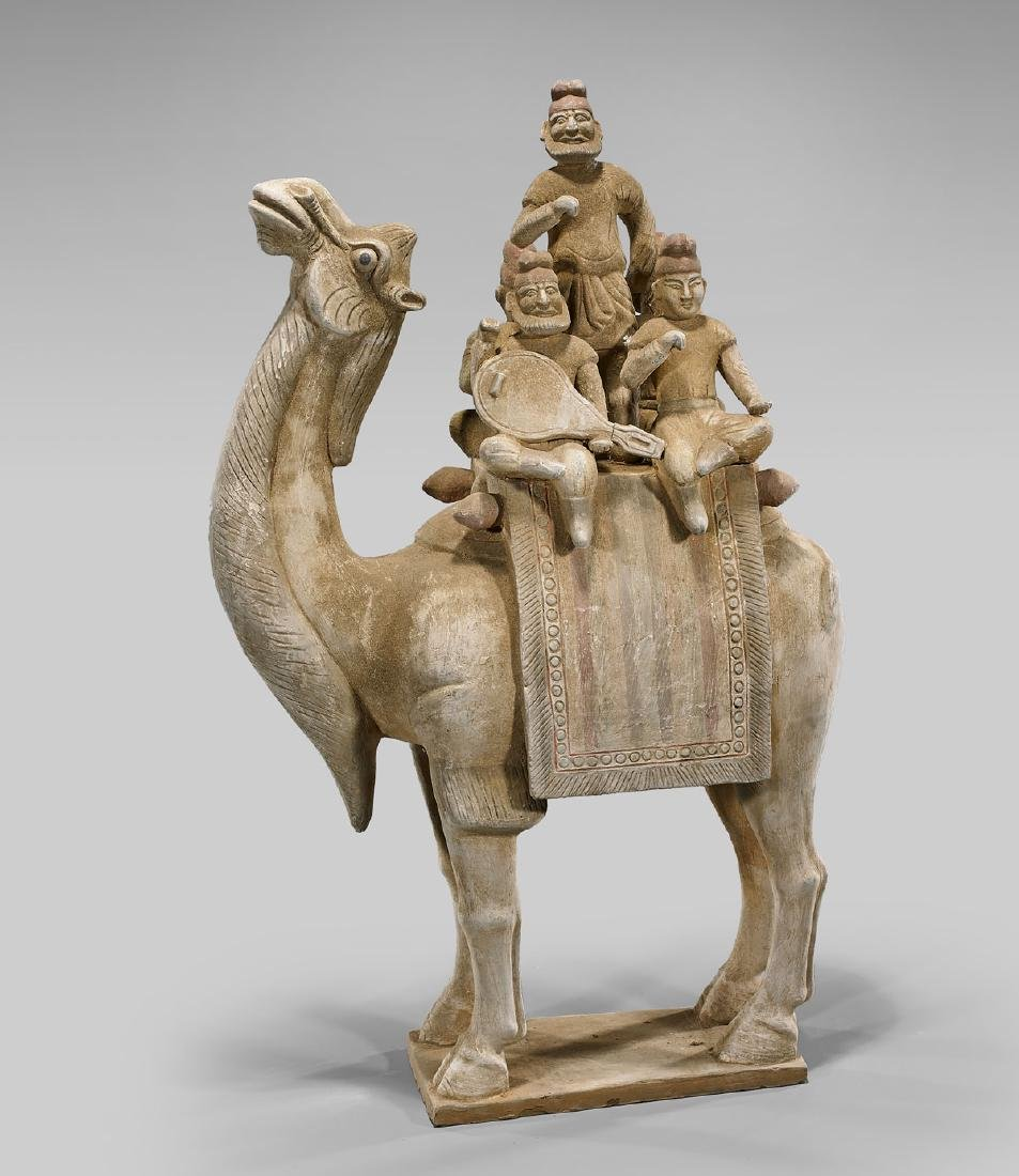 Tang-Style Pottery Camel
