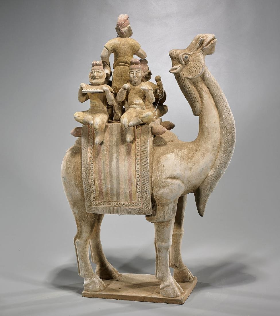 Tang-Style Pottery Camel - 2