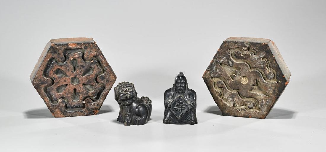 Group of Four Chinese Ceramics