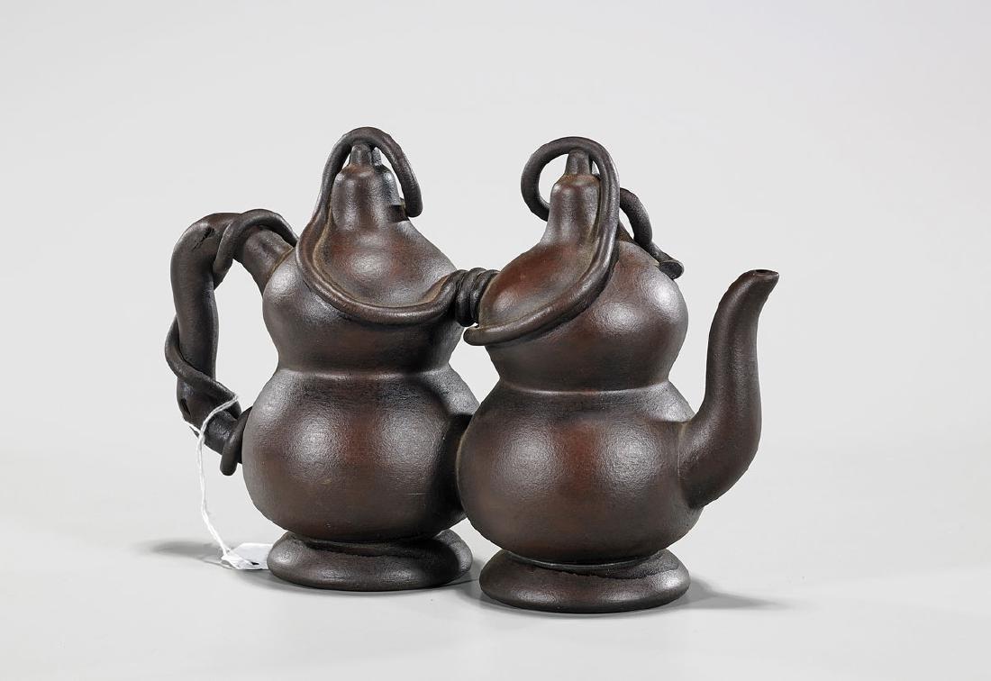 Chinese Yixing Pottery Teapot - 2