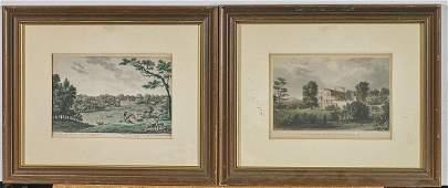 Group of Ten Engravings
