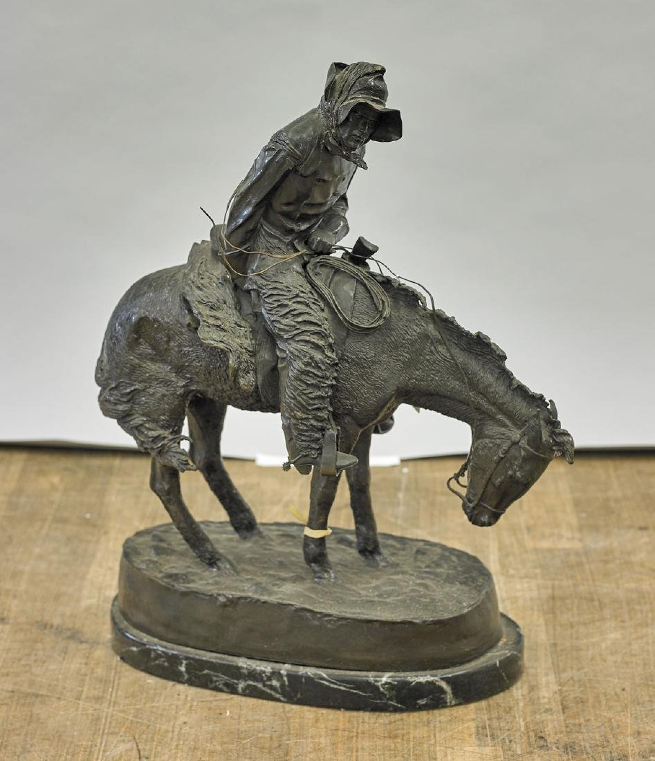 Large Bronze After Frederic Remington