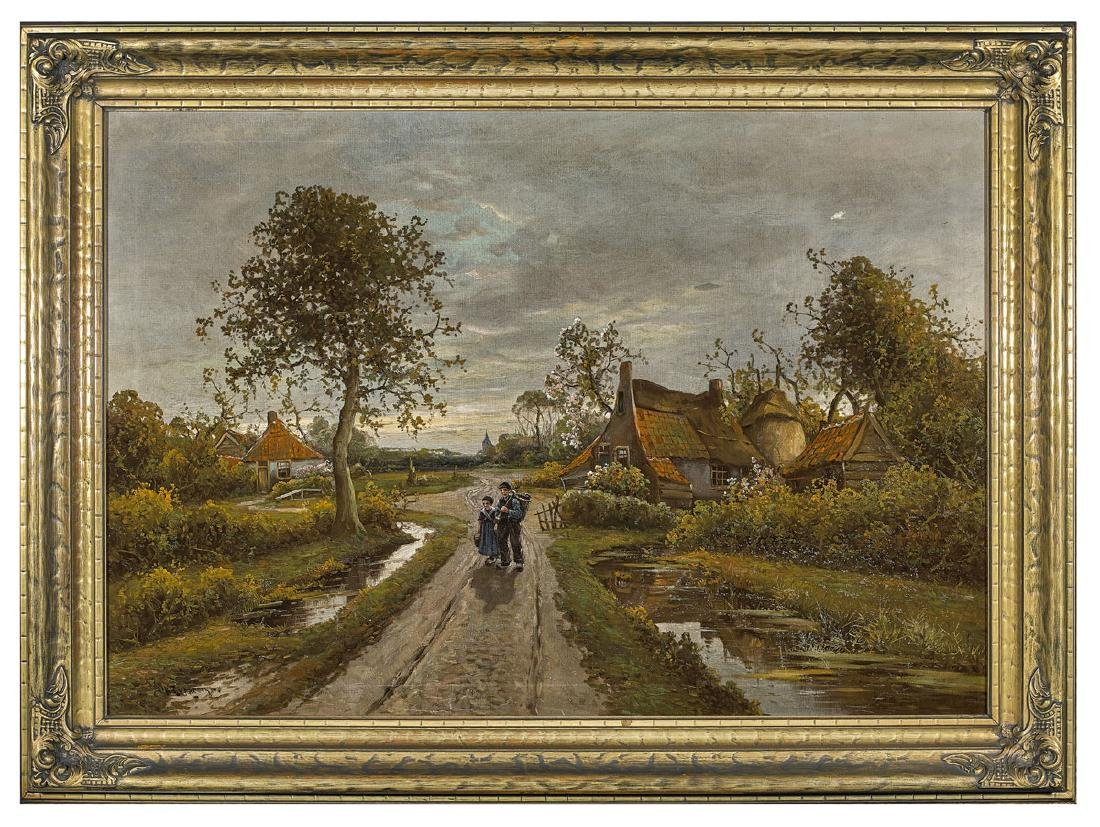 OIL PAINTING BY WILHELM RUPPRECHT - 2