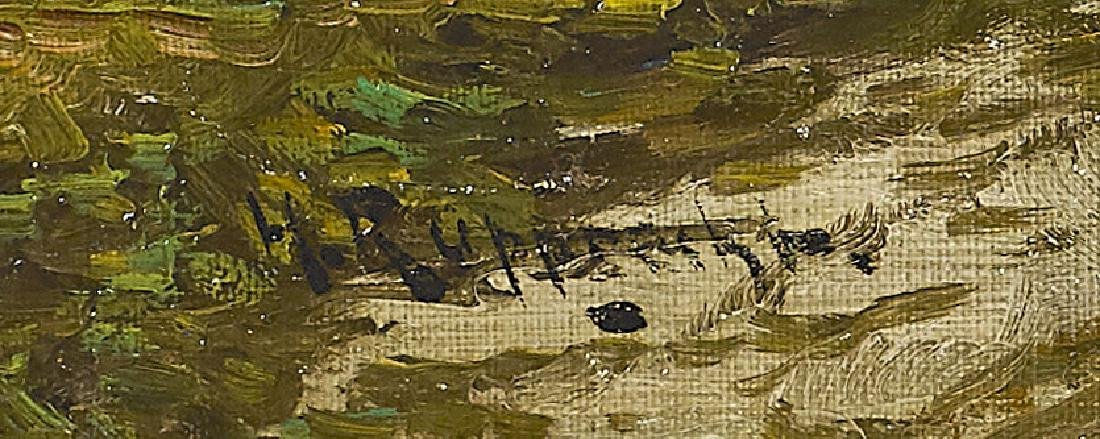OIL PAINTING BY WILHELM RUPPRECHT - 3
