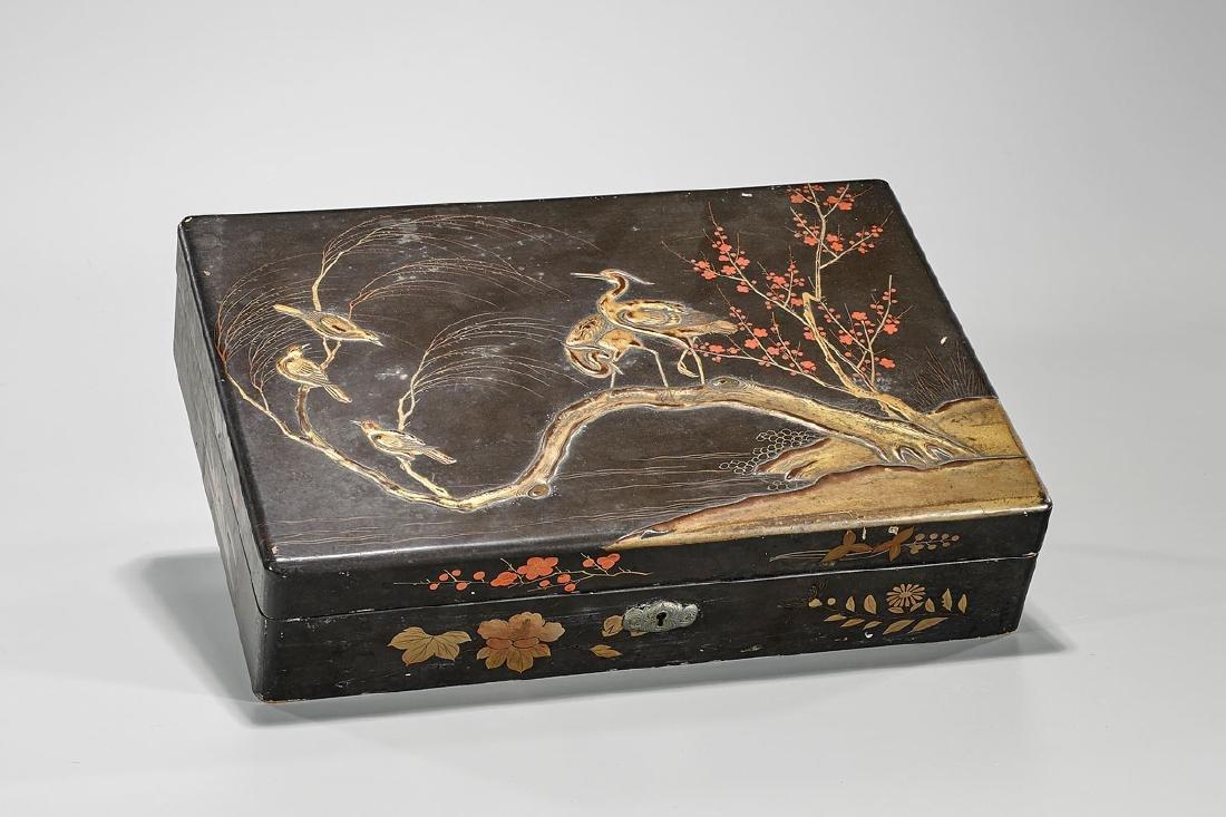 Antique Japanese Lacquer Box