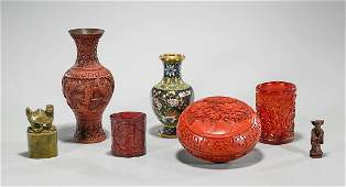Group of Seven Various Chinese Pieces