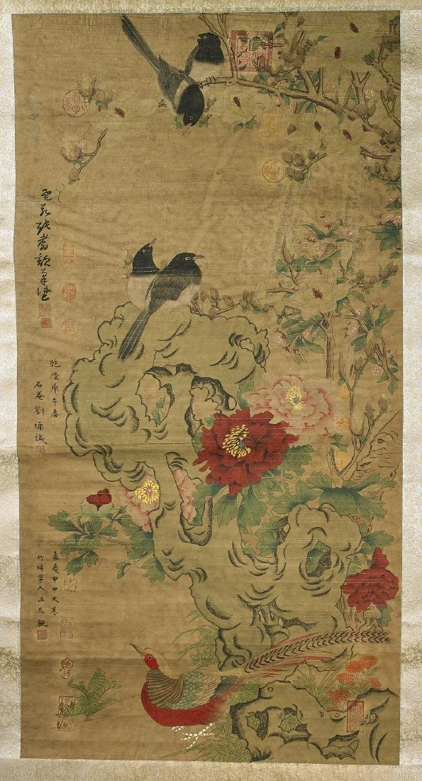 Two Chinese Scrolls After Chen Zhifo - 3