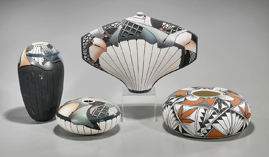 Group of Four Various Ceramics