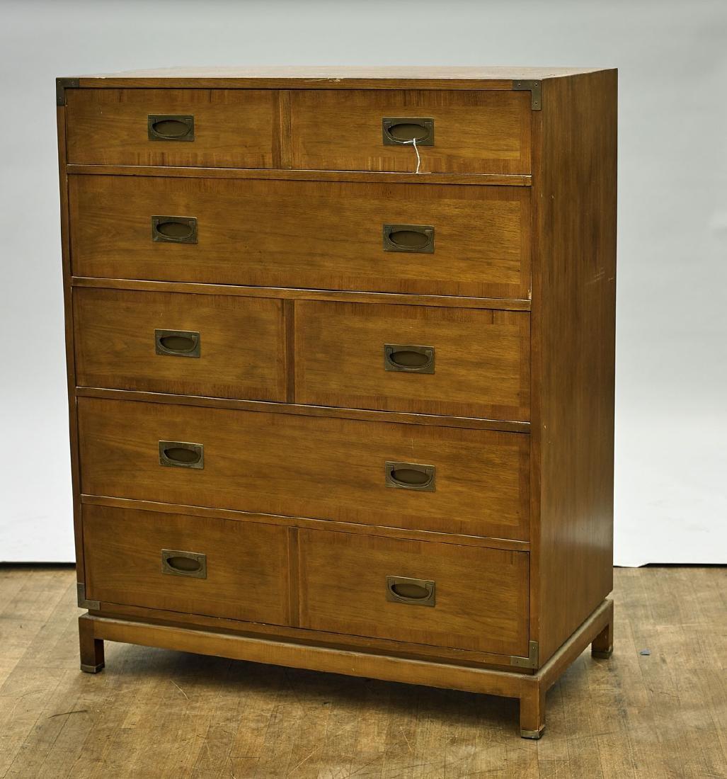 Three Midcentury Wood Furniture Items