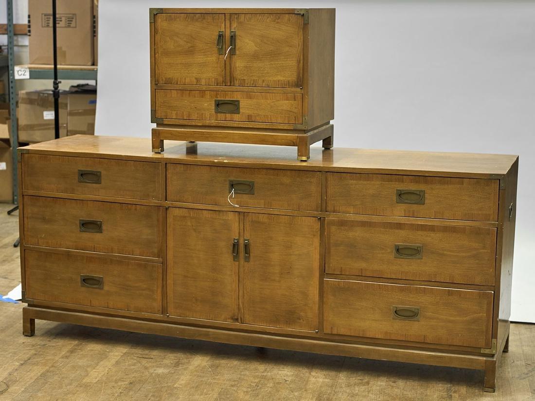 Three Midcentury Wood Furniture Items - 2