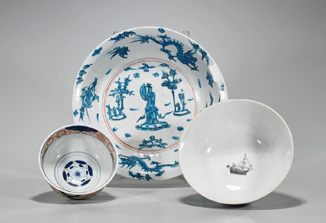 Group of Three Chinese Porcelains - 2
