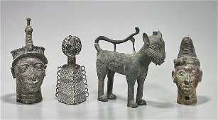 Four African Bronzes