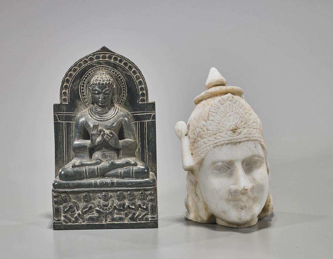 Two Southeast Asian Stone Carvings