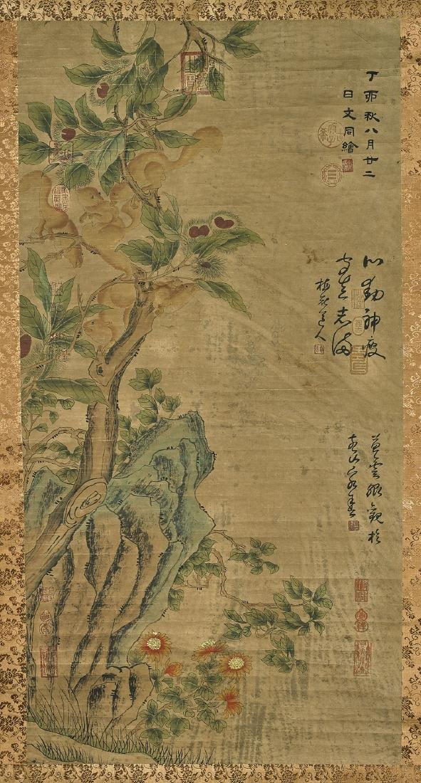 Group of Three Chinese Paper Scrolls - 3
