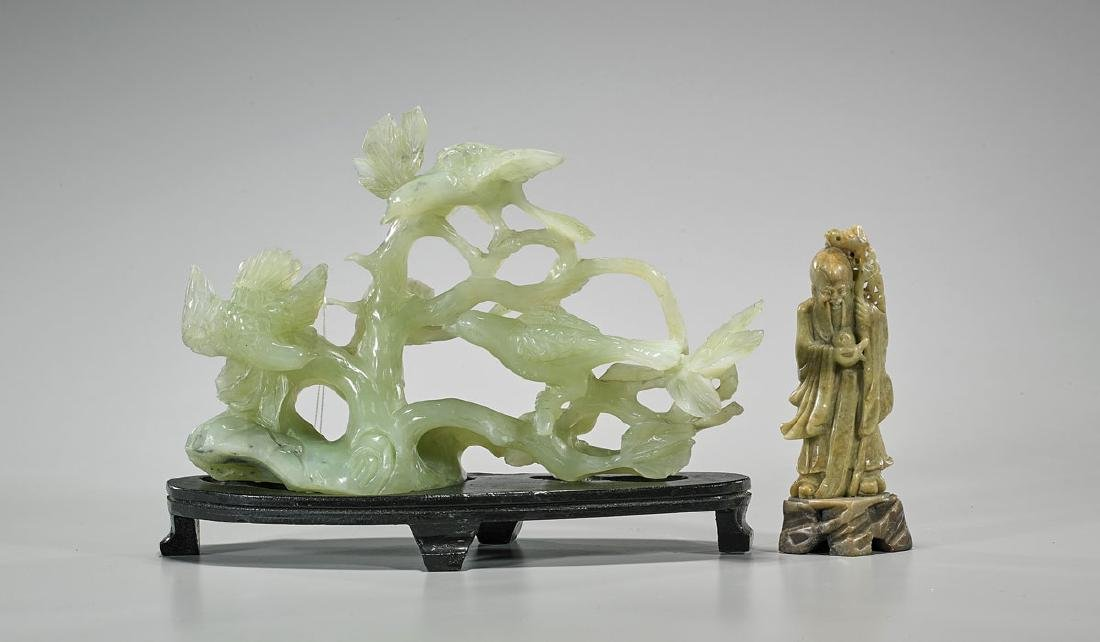 Two Chinese Carvings
