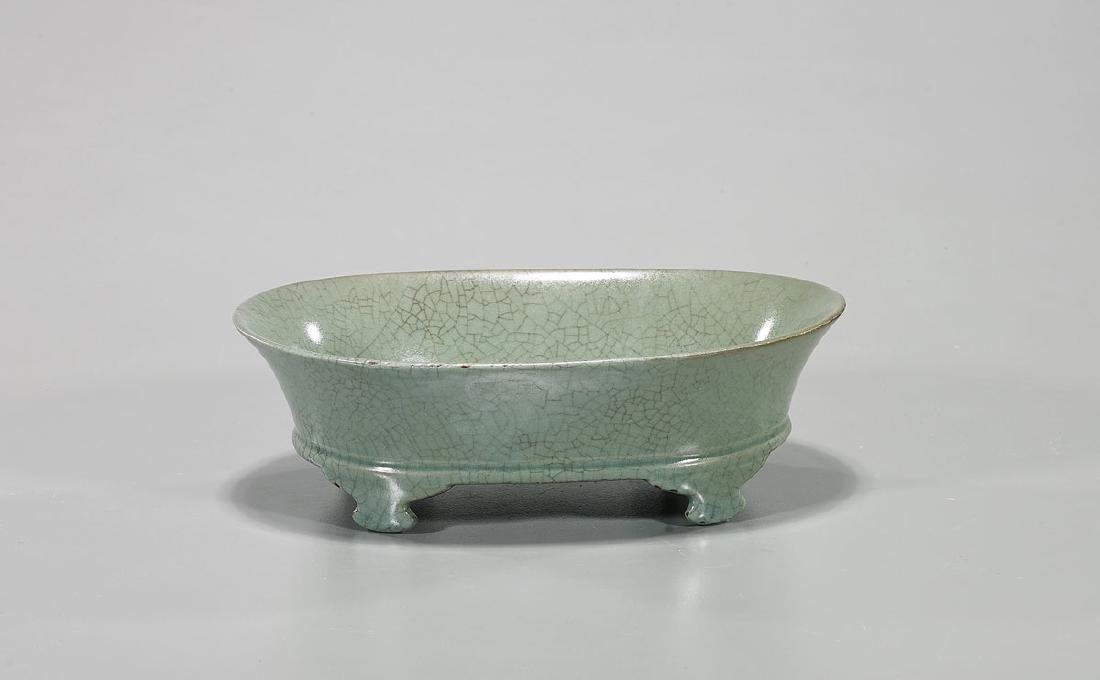 Chinese Song-Style Crackle Glazed Brush Washer - 2