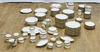 Large Set of Giraud Limoges Porcelain Tableware