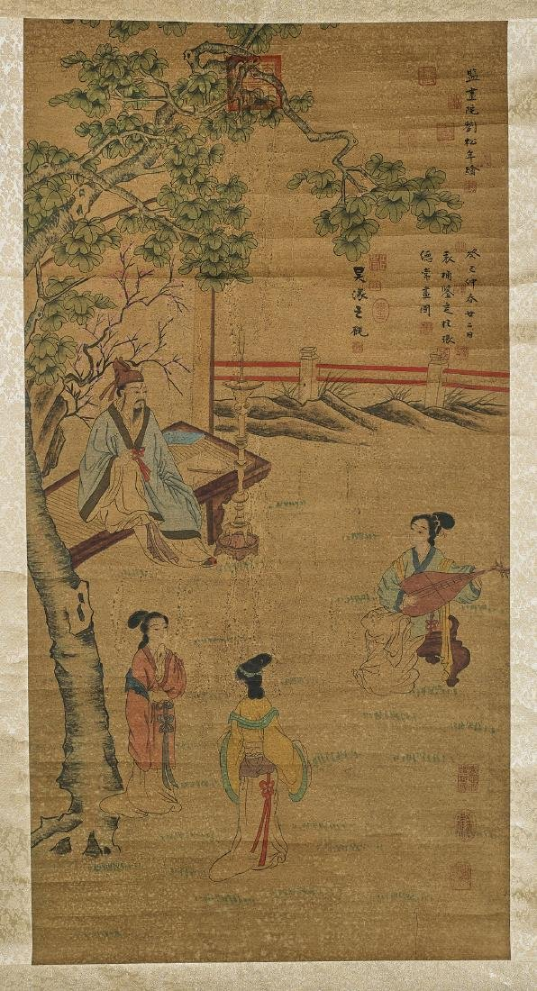Group of Three Chinese Scrolls - 3