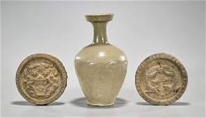 Group of Three Korean Ceramics