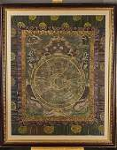 Antique Painted Thangka