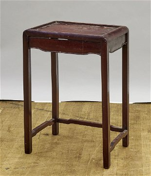 Chinese Wood Side Table