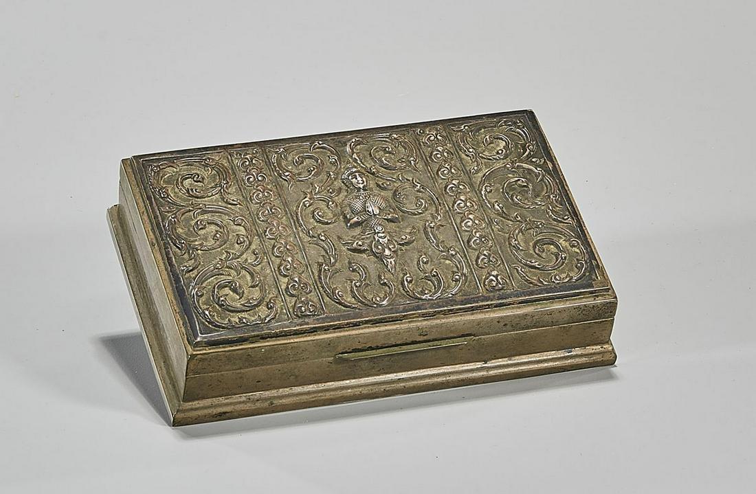 Thai Sterling Silver Box