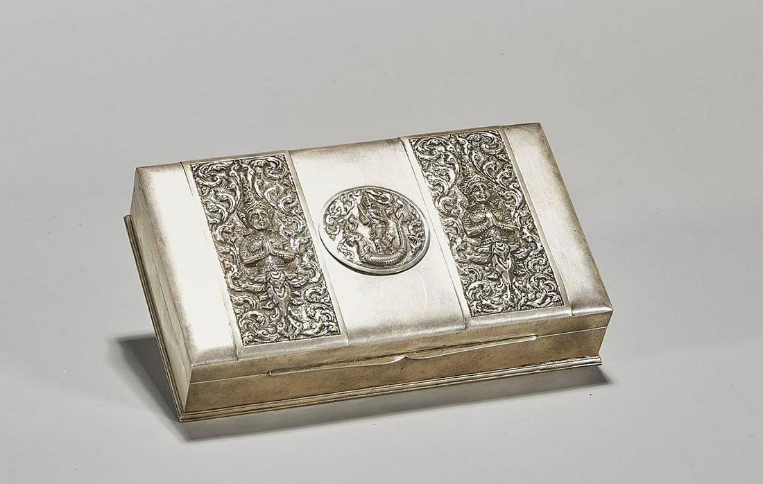 Thai Sterling Silver Box