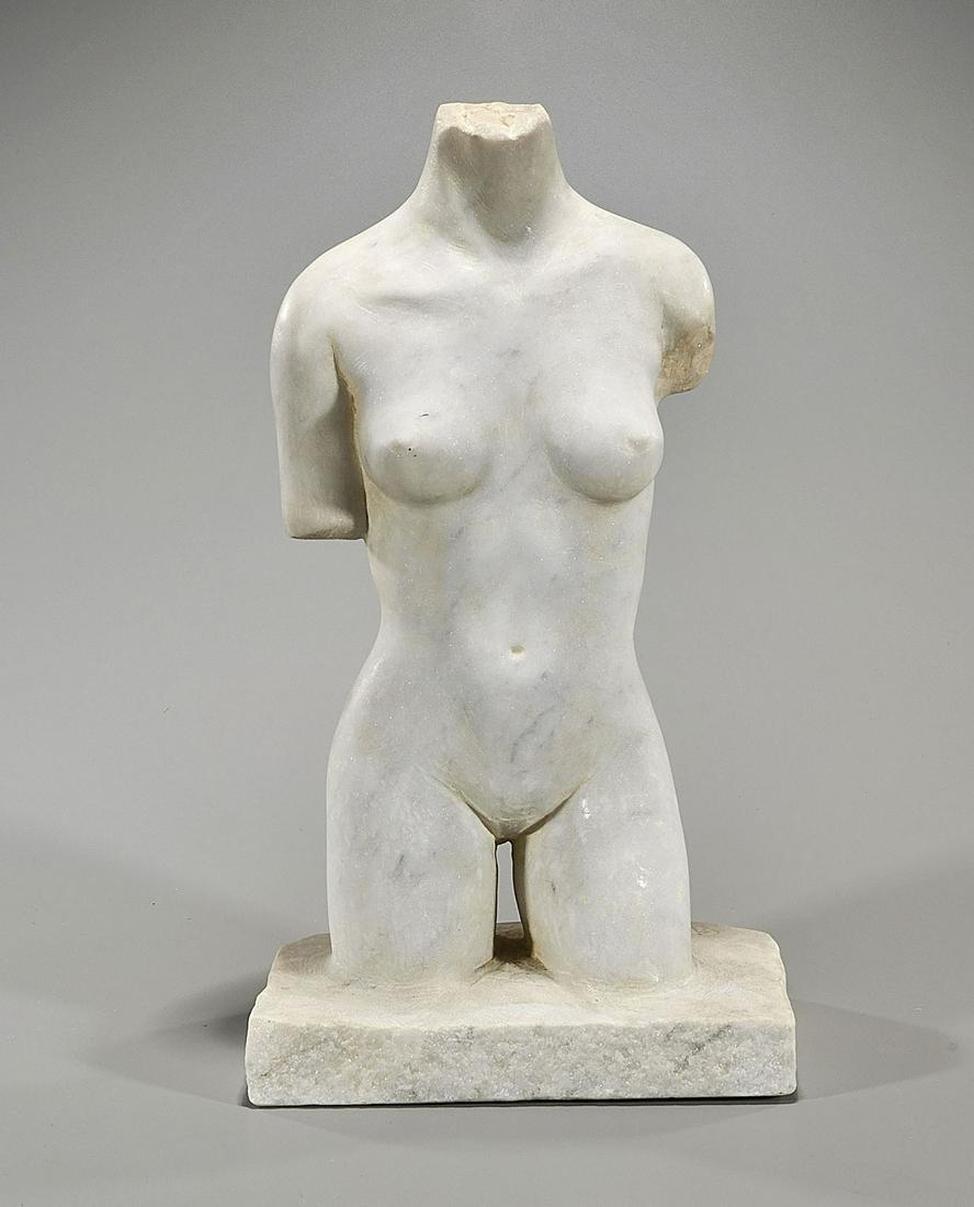 Marble Figural Sculpture