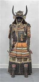 Japanese Taisho Period Samurai Armor