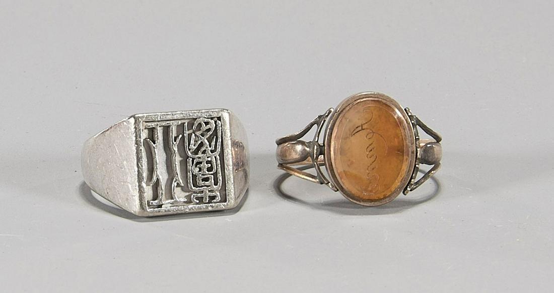 Two Old & Vintage Rings