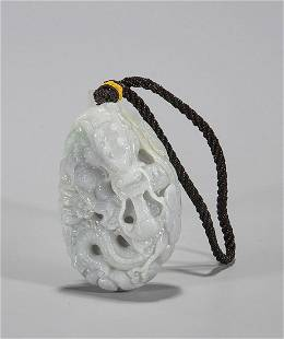 Chinese Jadeite Toggle