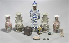 Group of Twelve Various Chinese Pieces