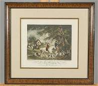 Two Antique Colored Prints After George Morland