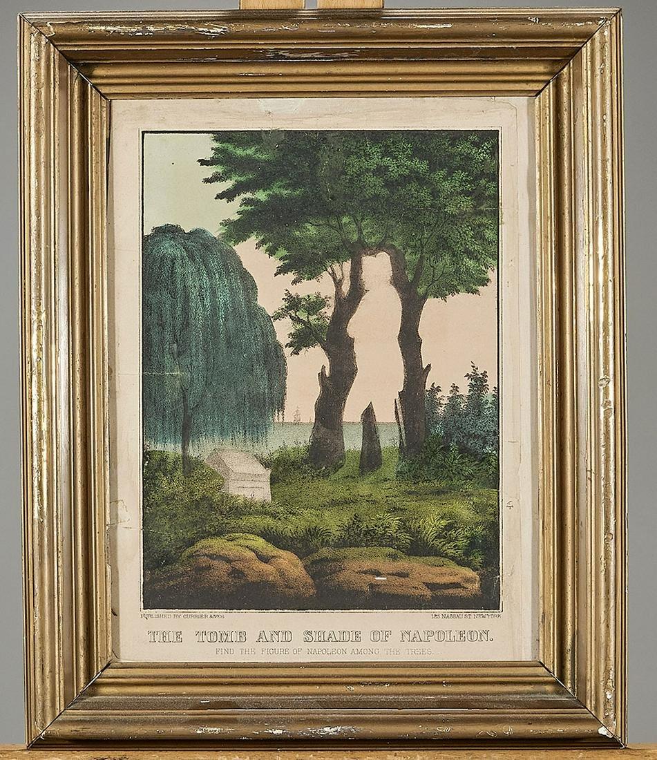 Two Antique Framed Prints