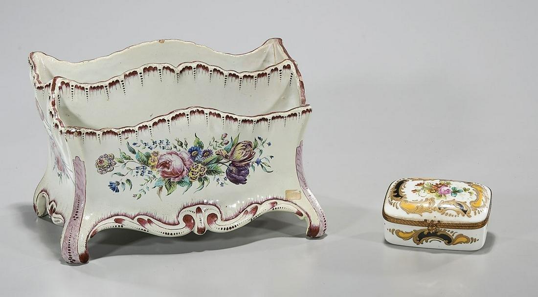 Two European Porcelains