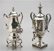 Two Silver Plate Vessels