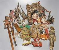 Large Group of Japanese and Southeast Asian Items