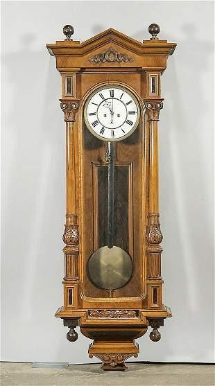 Vintage Case Hanging Clock