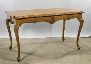 Vintage Rococo-Style Wood Desk