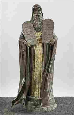 Bronze Sculpture of Moses by Dean Shipston